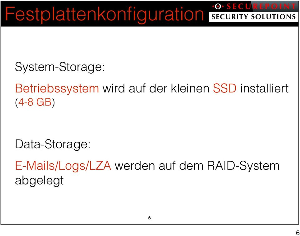 installiert (4-8 GB) Data-Storage: