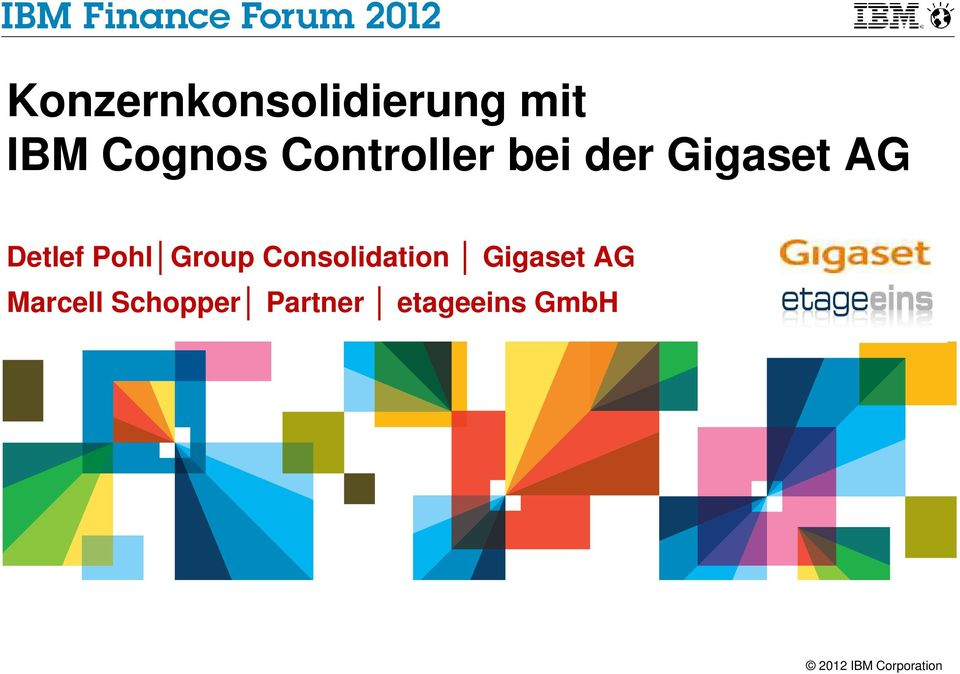 Pohl Group Consolidation Gigaset AG