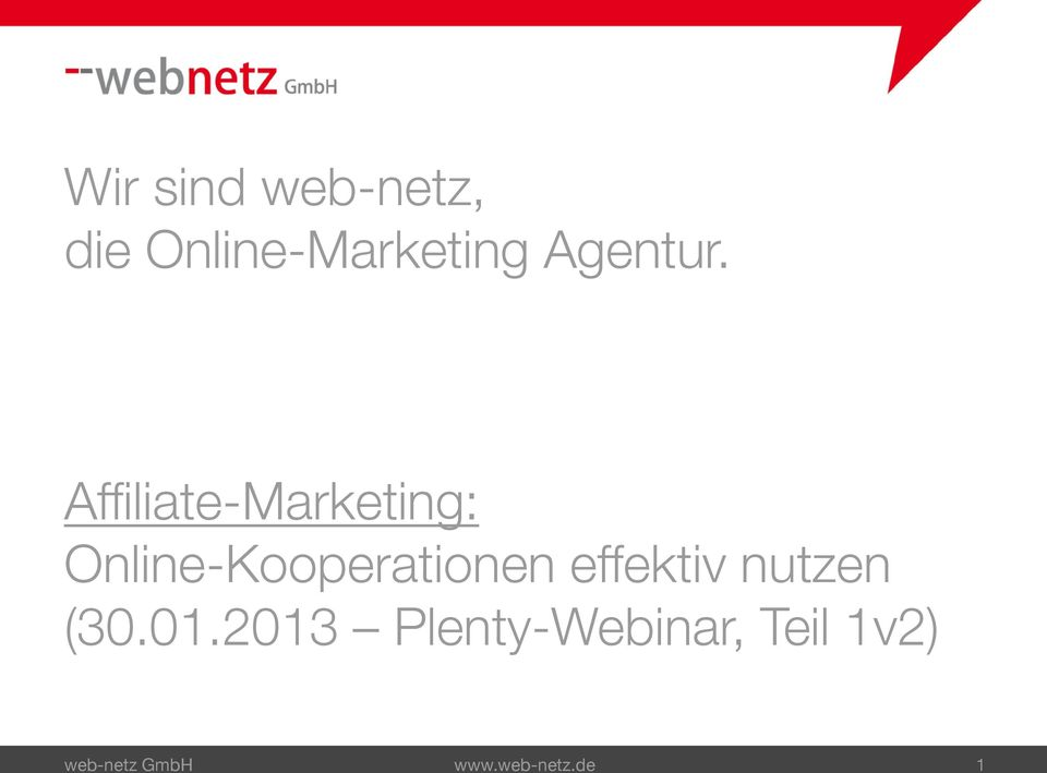 Affiliate-Marketing: Online-Kooperationen
