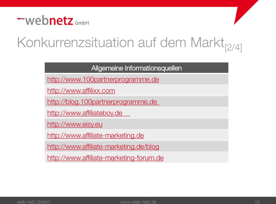 de http://www.eisy.eu http://www.affiliate-marketing.de http://www.affiliate-marketing.de/blog http://www.