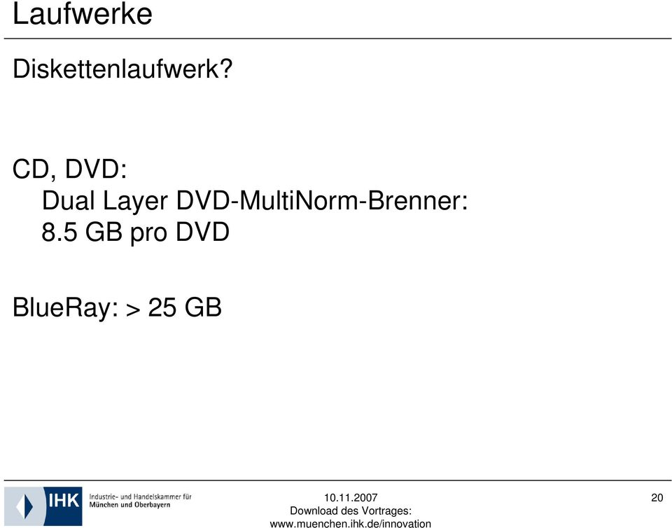 CD, DVD: Dual Layer