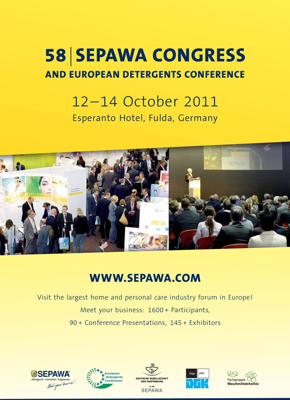 COM Visit the largest home and personal care industry forum in Europe!