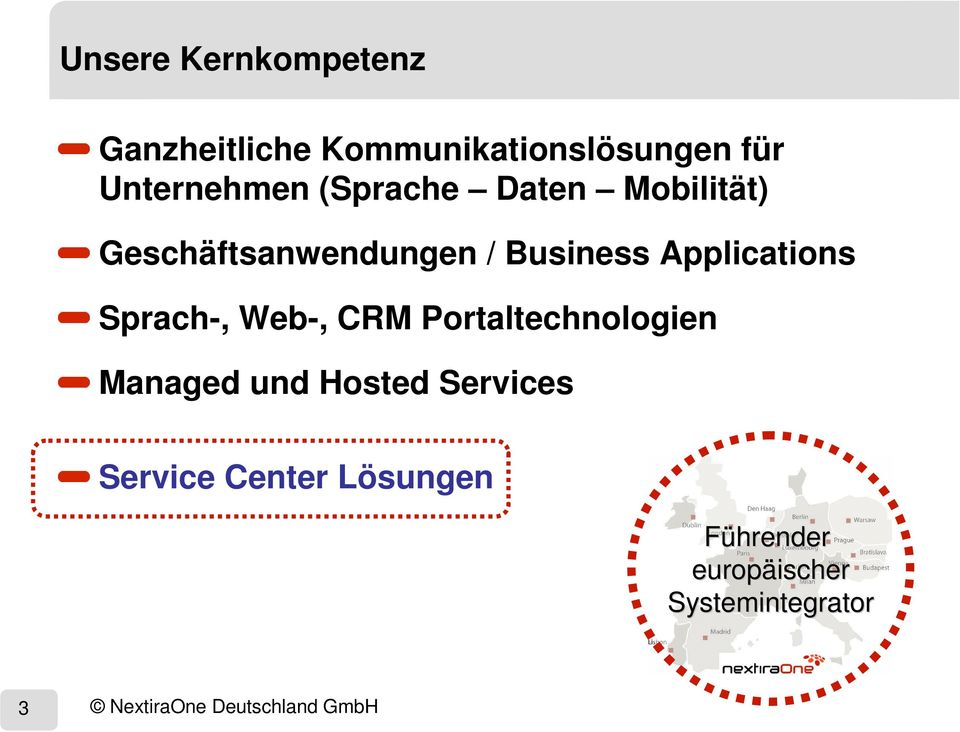 Portaltechnologien Managed und Hosted Services Service Center Lösungen Führender
