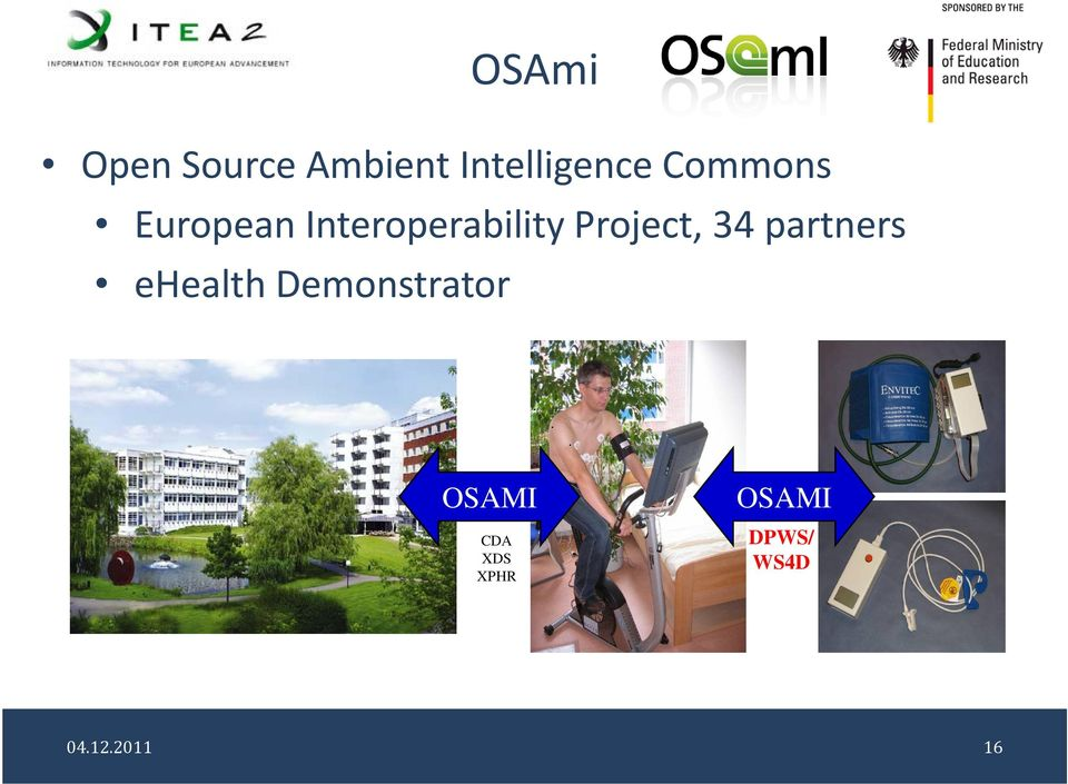 Project, 34 partners ehealth