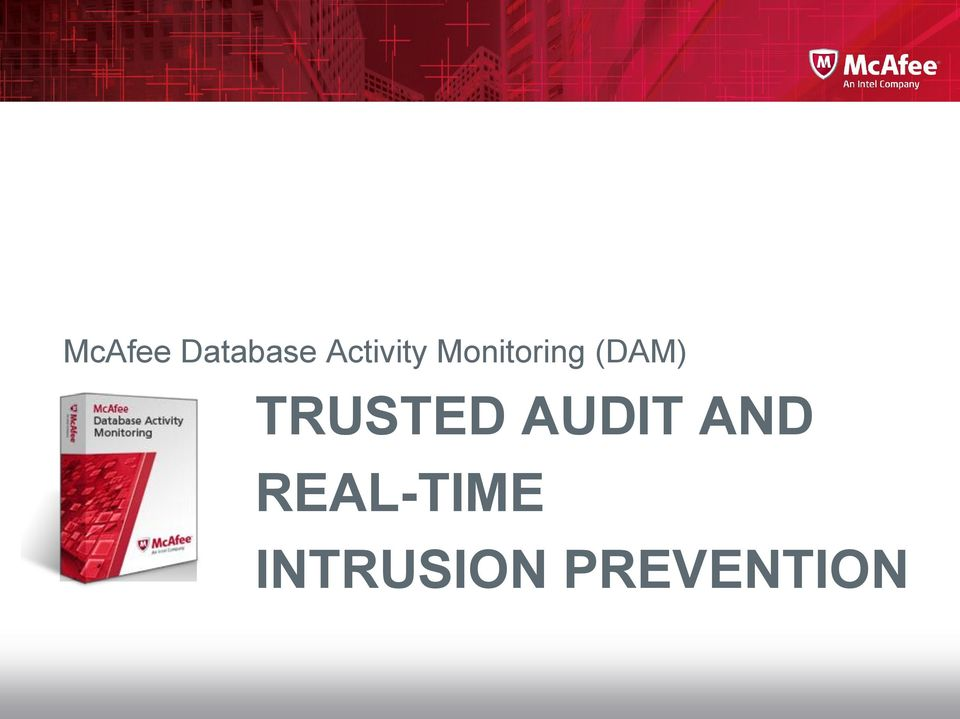 (DAM) TRUSTED AUDIT