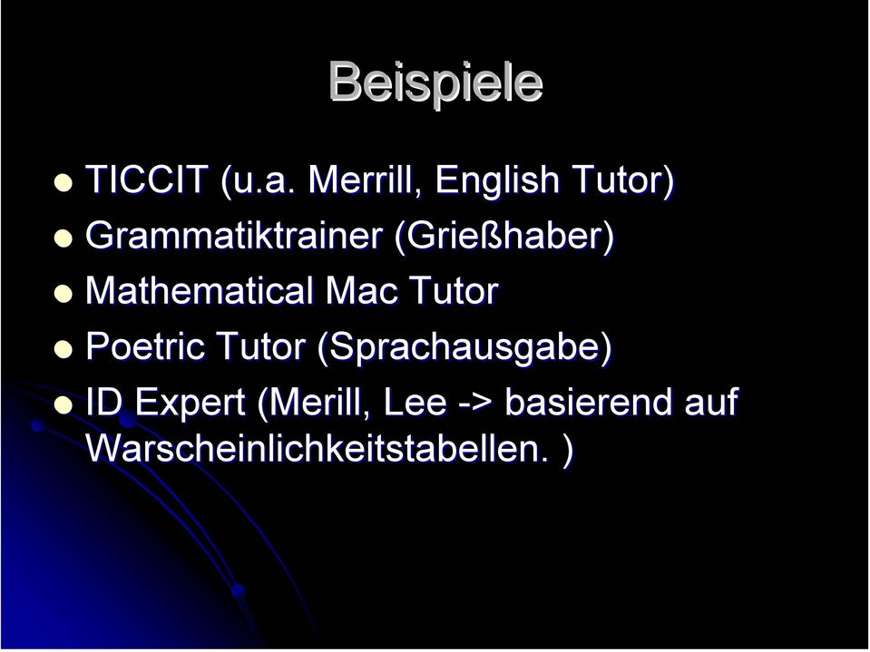 (Grießhaber( Grießhaber) Mathematical Mac Tutor Poetric