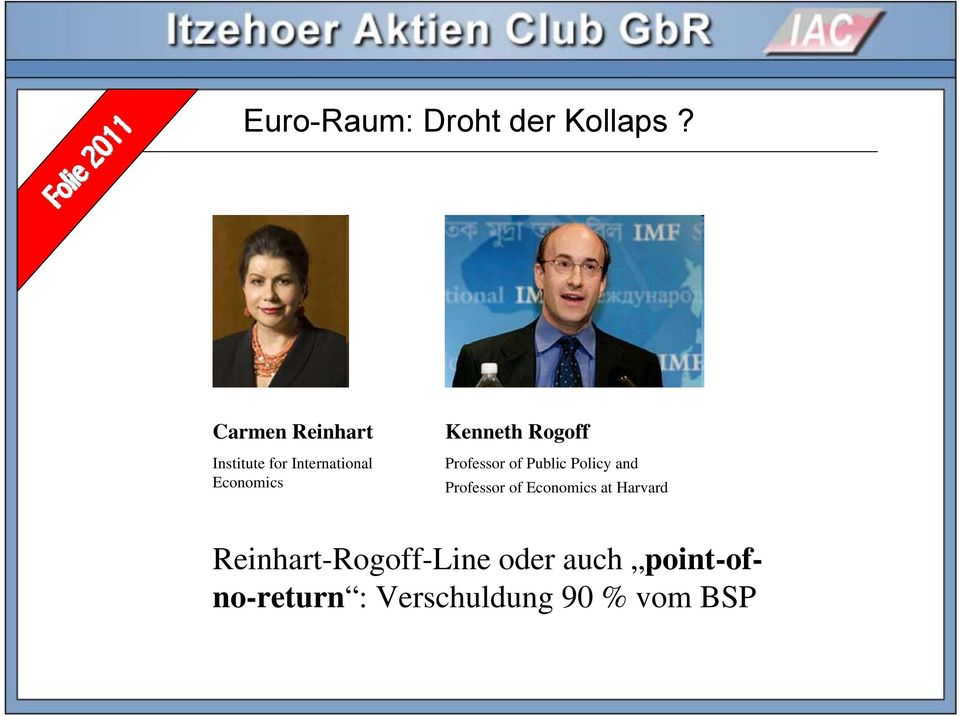Kenneth Rogoff Professor of Public Policy and Professor of