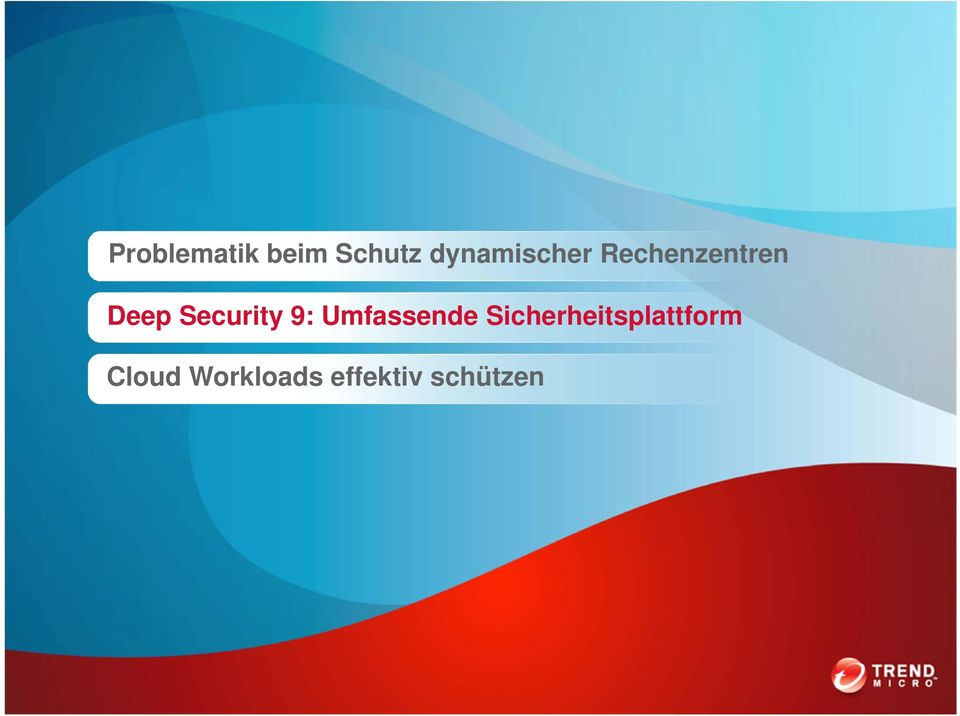 Security 9: Umfassende