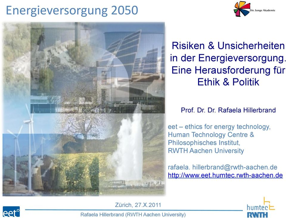 energy technology, Human Technology Centre & Philosophisches Institut, RWTH Aachen