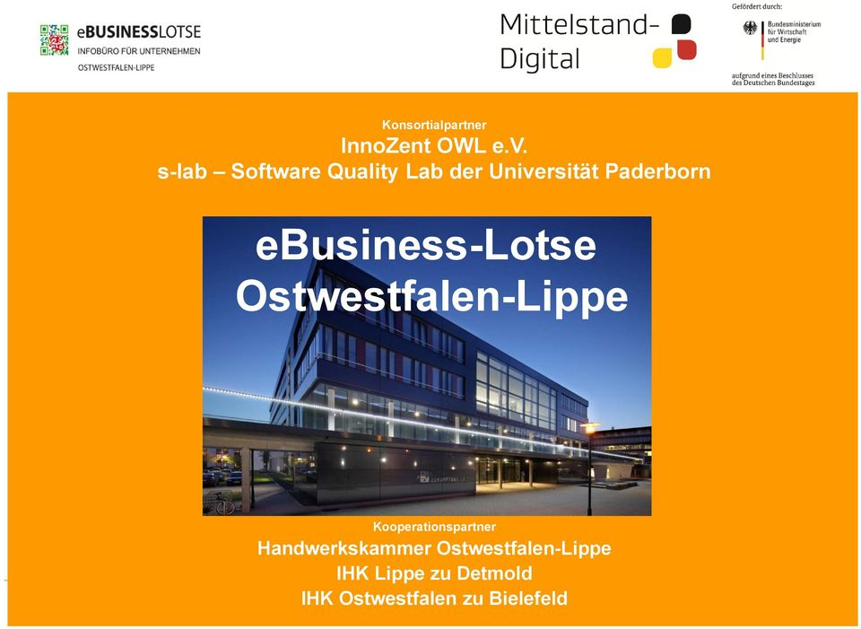ebusiness-lotse Ostwestfalen-Lippe Kooperationspartner