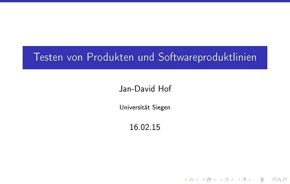 Softwareproduktlinien
