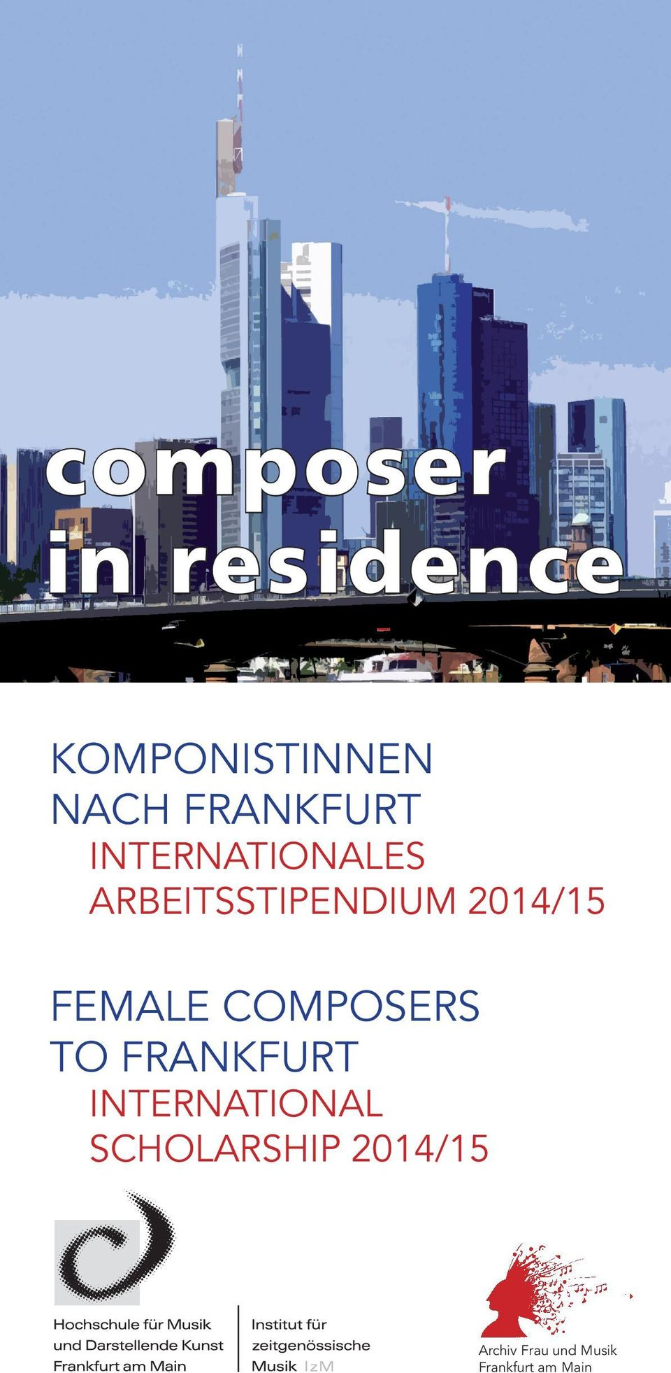 2014/15 FEMALE COMPOSERS TO FRANKFURT