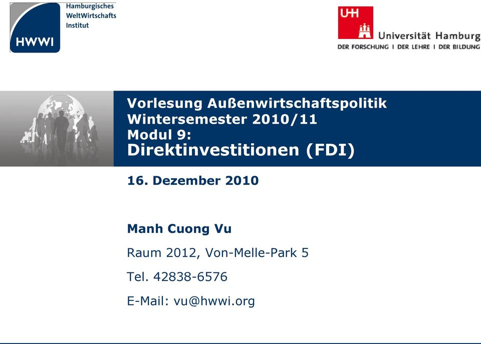 Direktinvestitionen (FDI) 16.