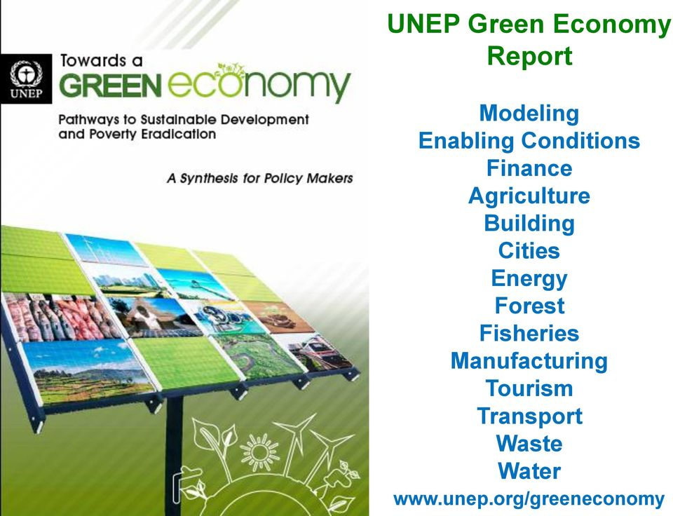 Cities Energy Forest Fisheries Manufacturing