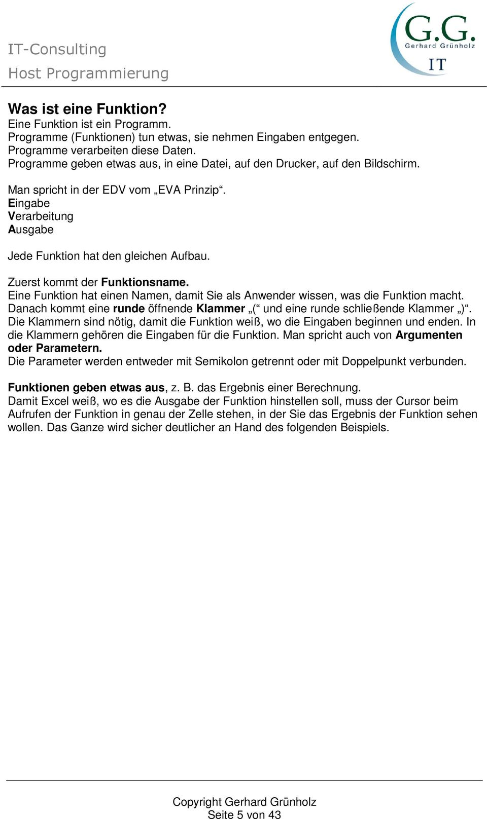 IT-Consulting Host Programmierung - PDF