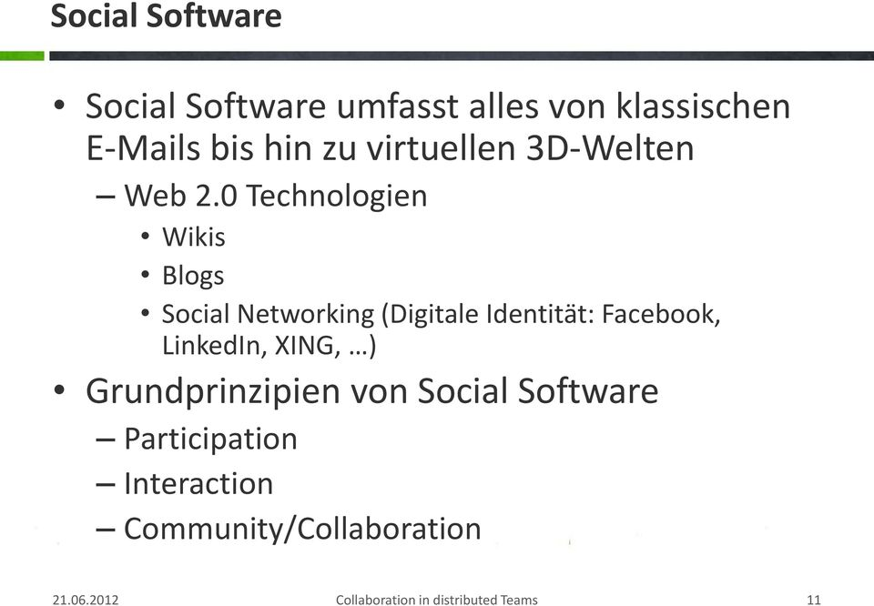 0 Technologien Wikis Blogs Social Networking (Digitale Identität: Facebook,