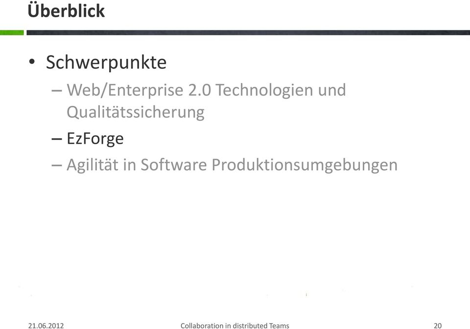 EzForge Agilität in Software
