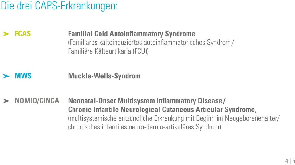 Neonatal-Onset Multisystem Inflammatory Disease / Chronic Infantile Neurological Cutaneous Articular Syndrome,