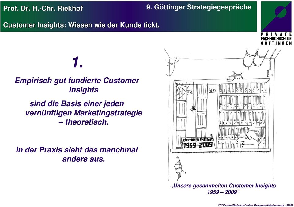 Marketingstrategie theoretisch.