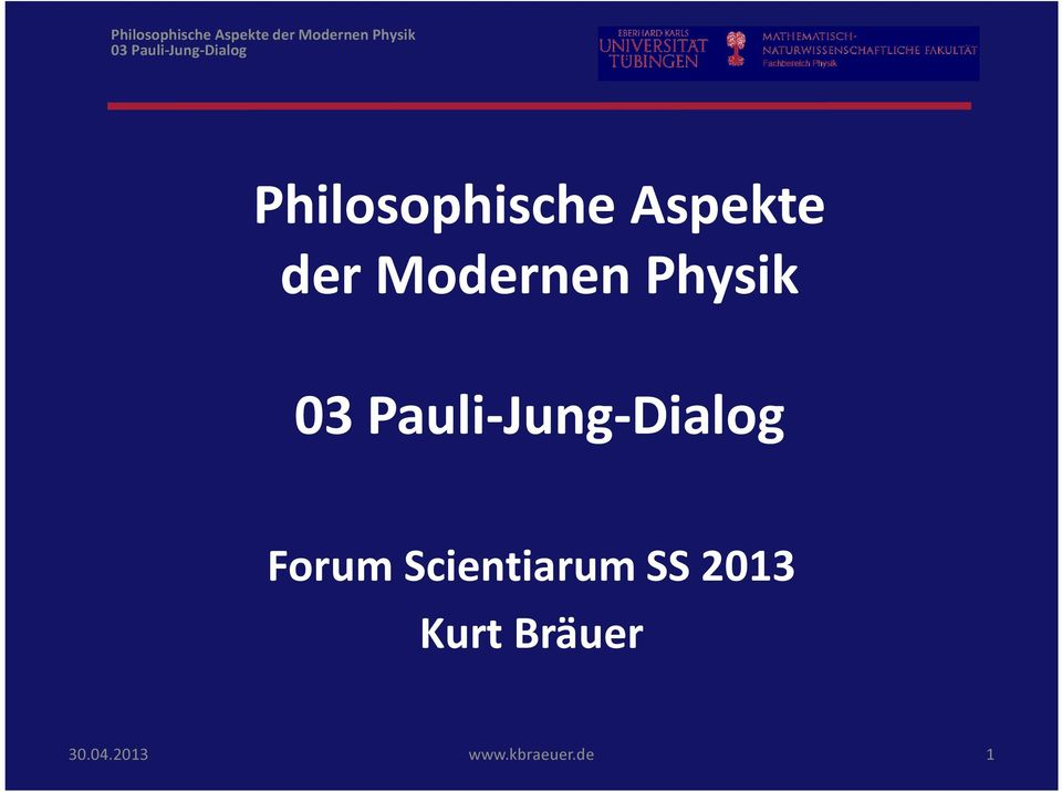 Physik Forum