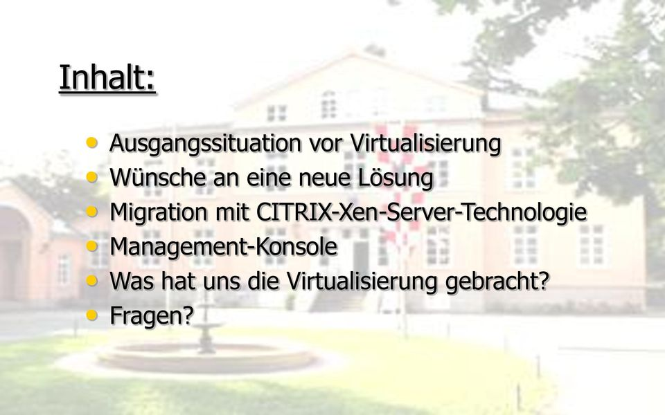 CITRIX-Xen-Server-Technologie