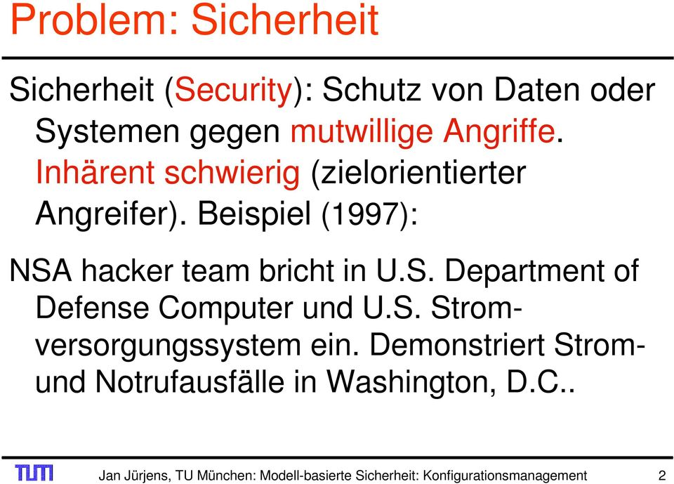 hacker team bricht in U.S. Department of Defense Computer und U.S. Stromversorgungssystem ein.