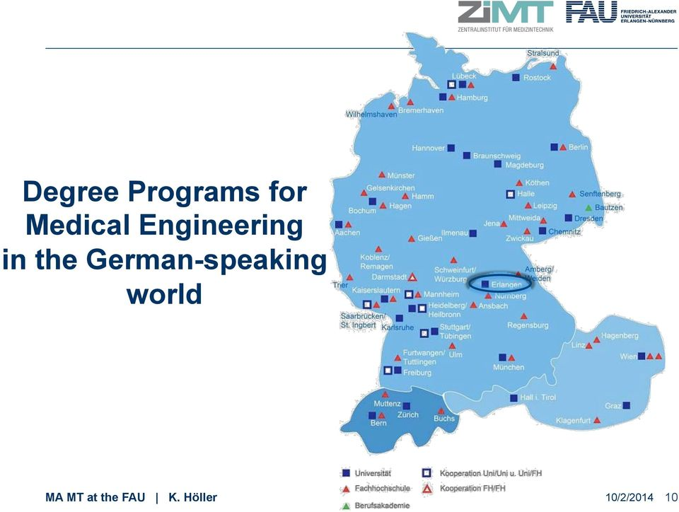 German-speaking world MA