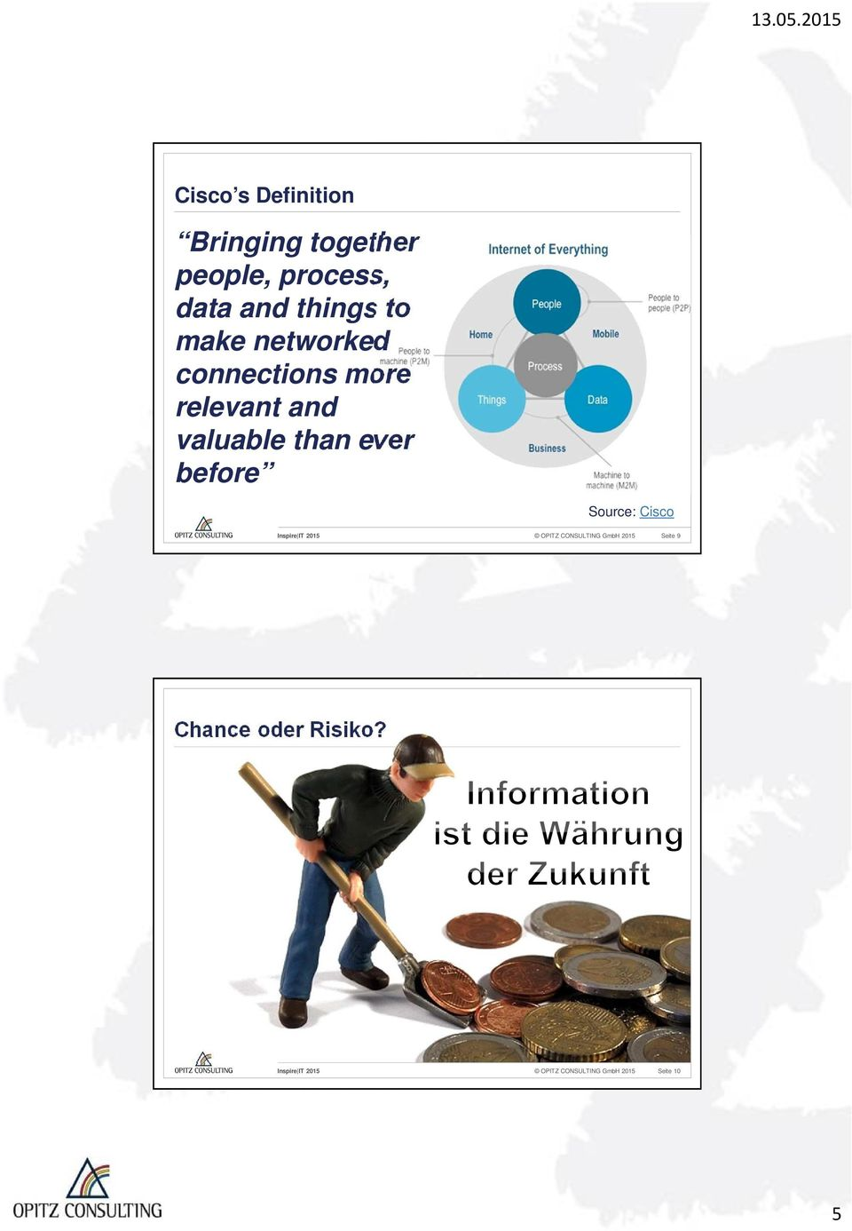valuable than ever before Source: Cisco OPITZ CONSULTING GmbH