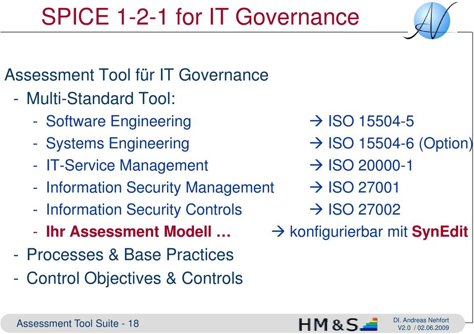 Information Security Management ISO 27001 - Information Security Controls ISO 27002 - Ihr Assessment