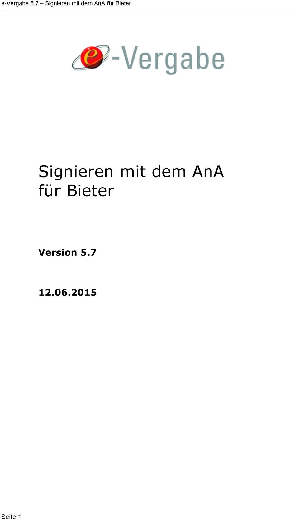 Bieter Version