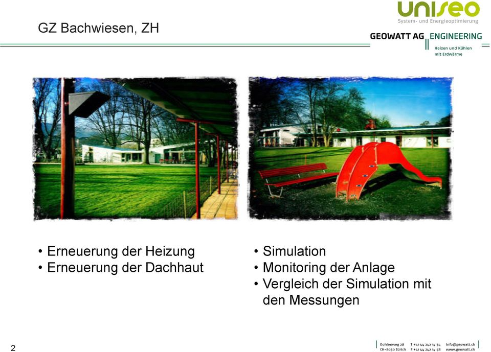 Simulation Monitoring der Anlage