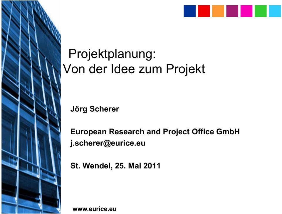 and Project Office GmbH j.