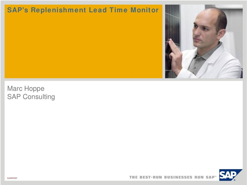 Lead Time Monitor