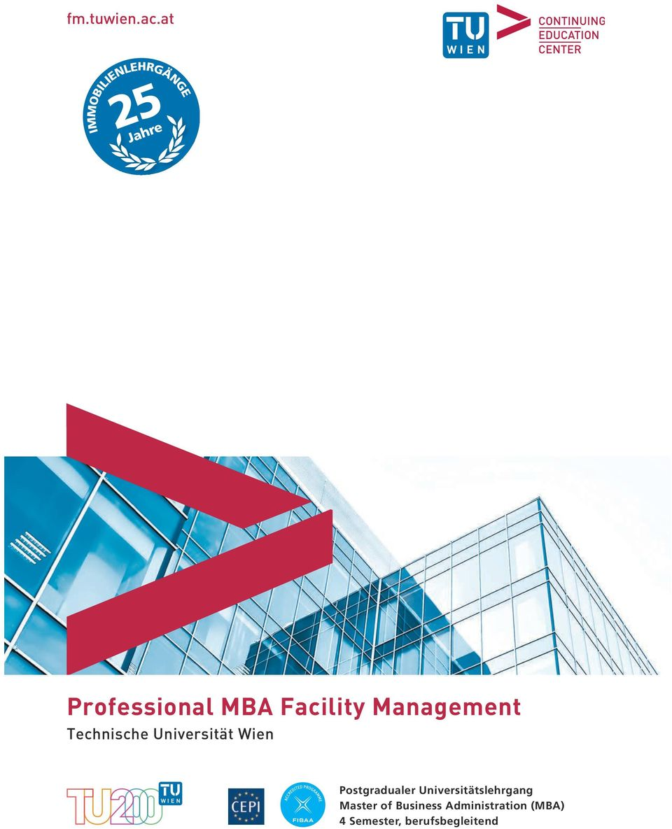 Jahre Professional MBA Facility Management