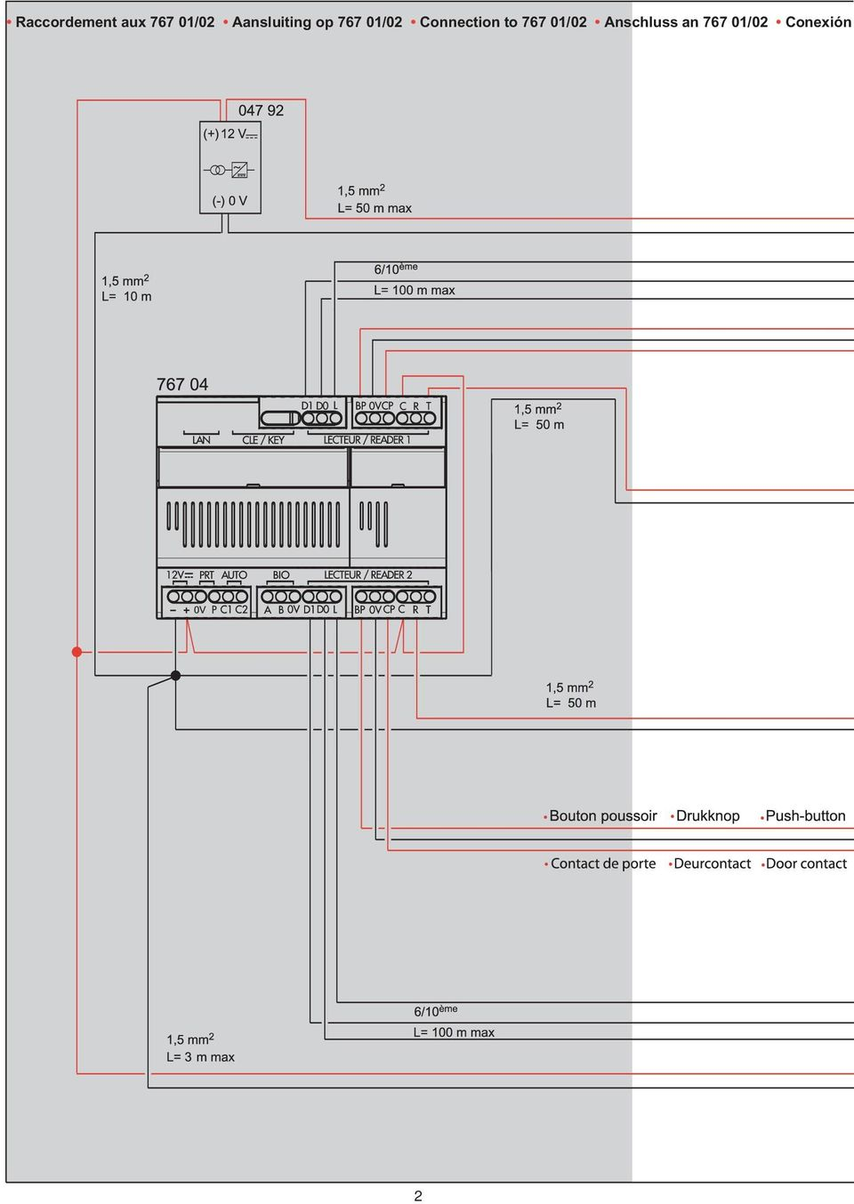 Connection to 767 01/02