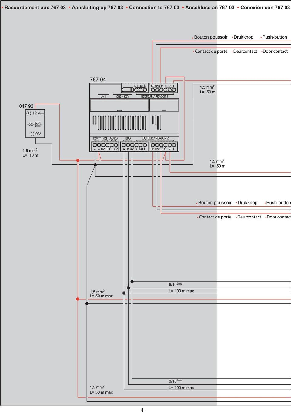 Connection to 767 03