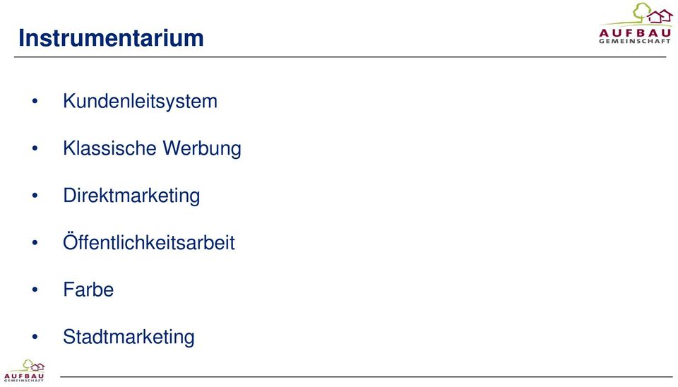 Werbung Direktmarketing