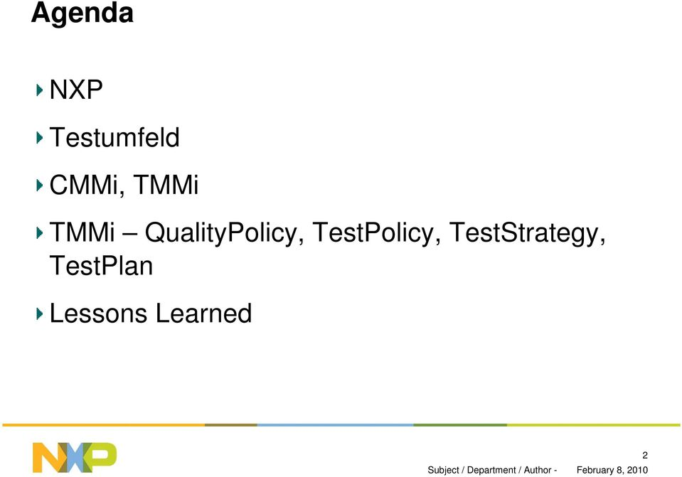 QualityPolicy, TestPolicy,