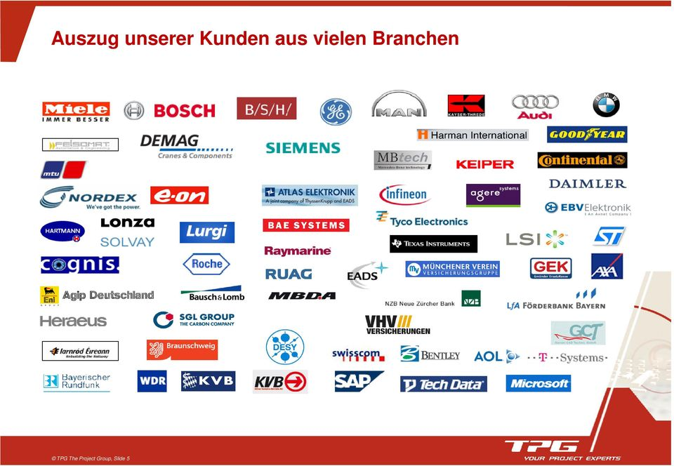 Branchen TPG The
