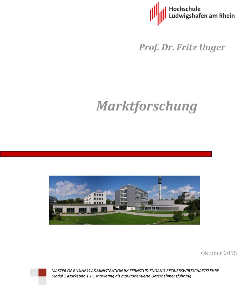BUSINESS ADMINISTRATION IM FERNSTUDIENGANG
