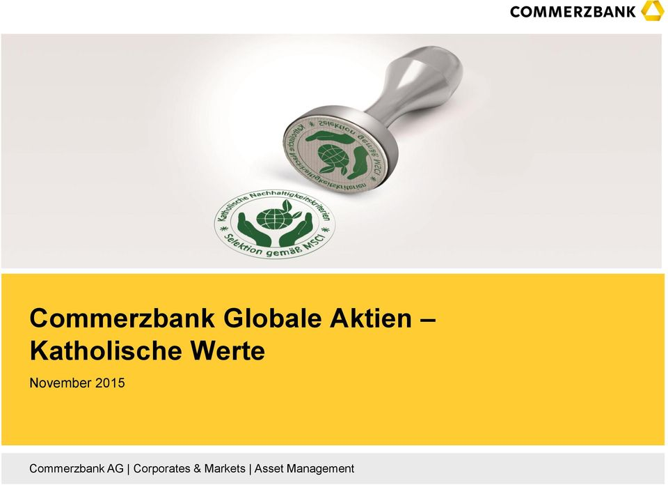 2015 Commerzbank AG