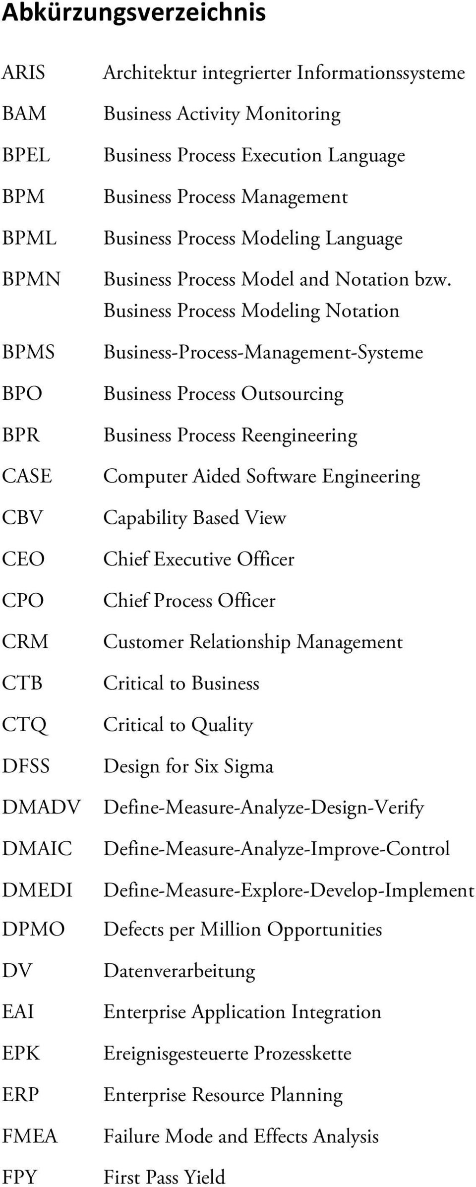 Business Process Modeling Notation Business-Process-Management-Systeme Business Process Outsourcing Business Process Reengineering Computer Aided Software Engineering Capability Based View Chief
