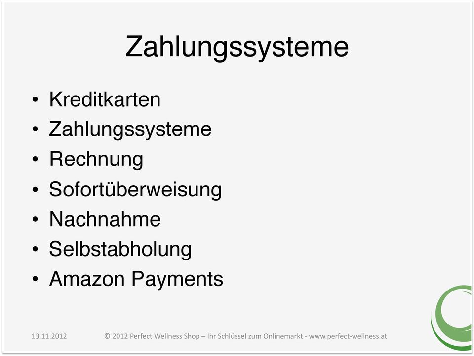 "Selbstabholung"" Amazon Payments"" 13.11."
