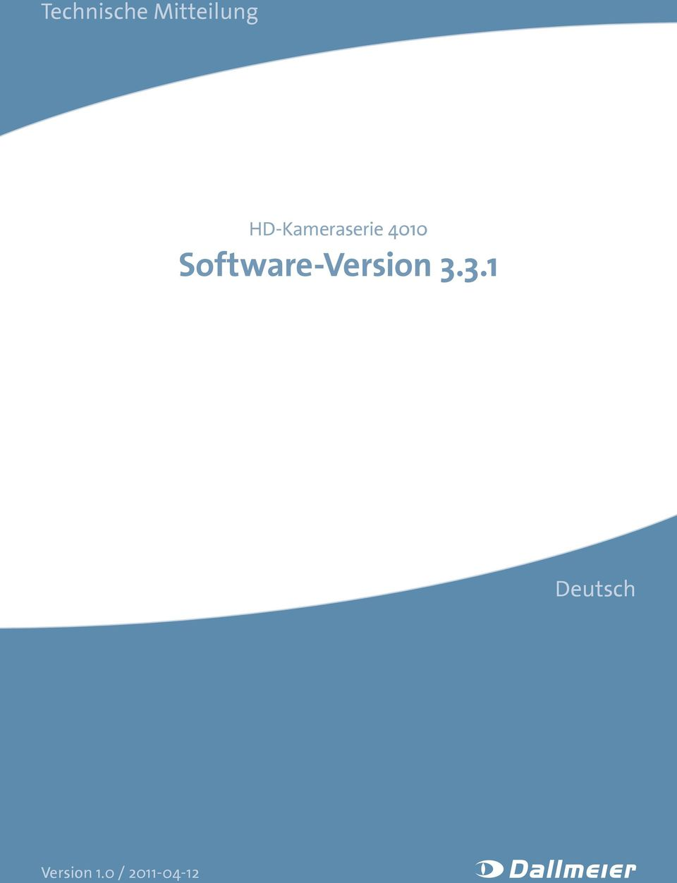 Software-Version 3.
