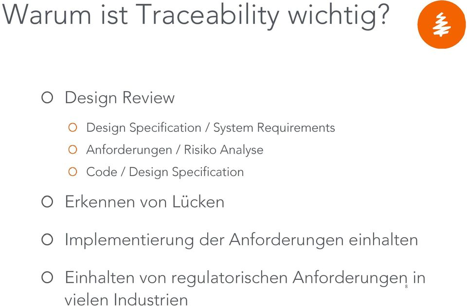 Anforderungen / Risiko Analyse Code / Design Specification Erkennen