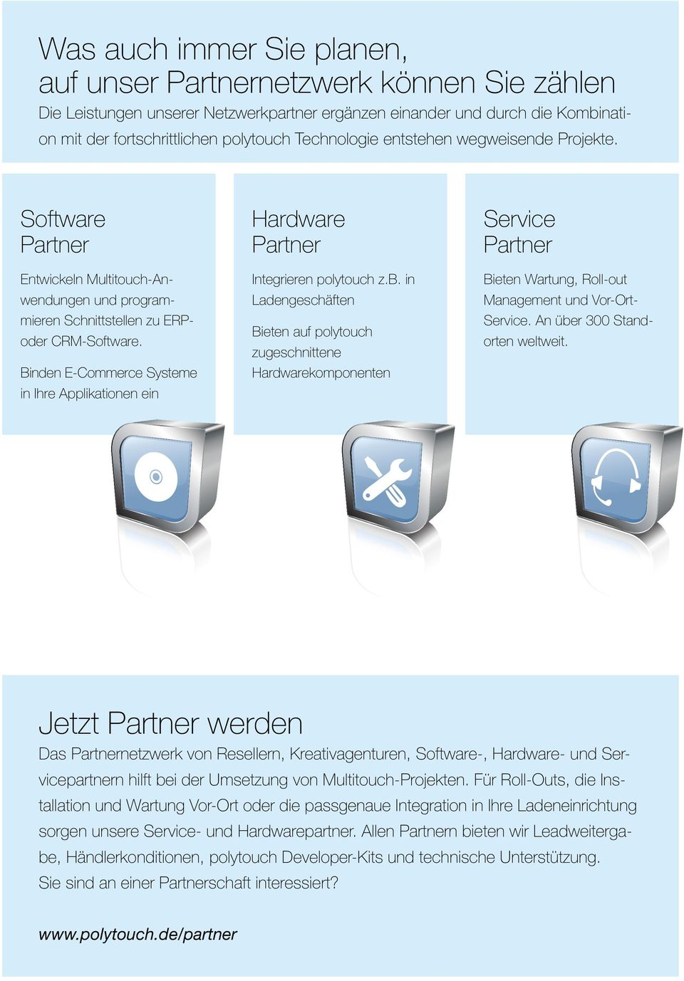 Binden E-Commerce Systeme in Ihre Applikationen ein Hardware Partner Integrieren polytouch z.b.