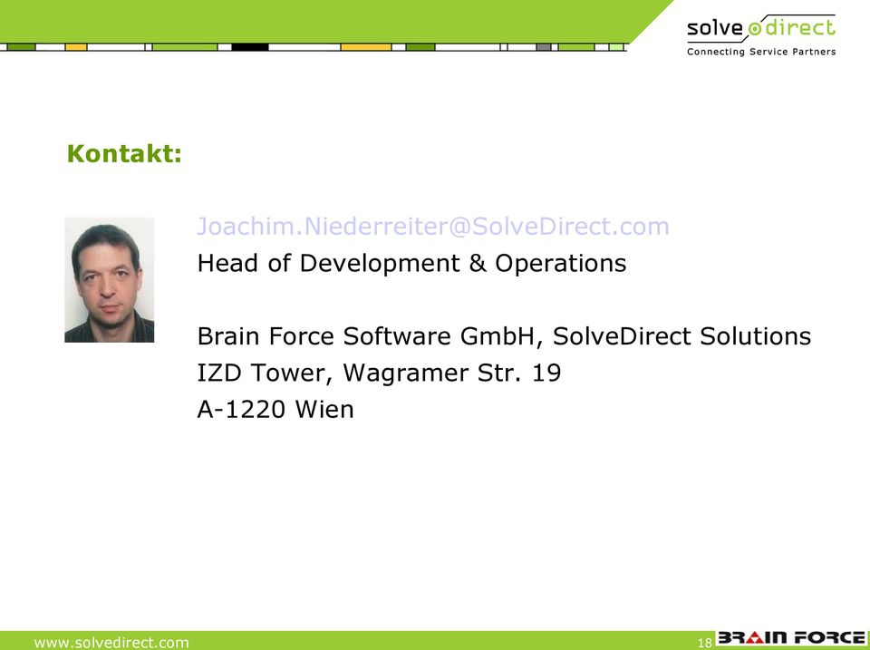 Force Software GmbH, SolveDirect Solutions