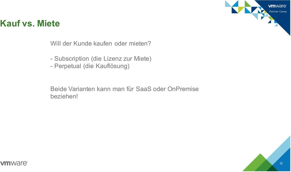 - Subscription (die Lizenz zur Miete) -