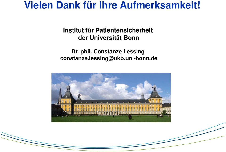 Universität Bonn Dr. phil.