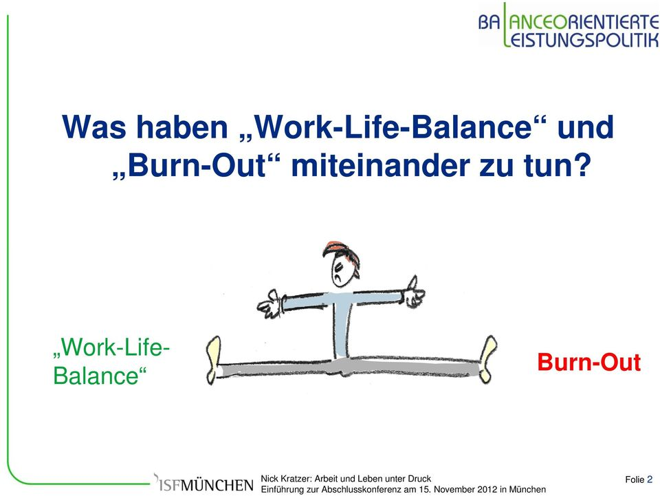 Burn-Out miteinander zu